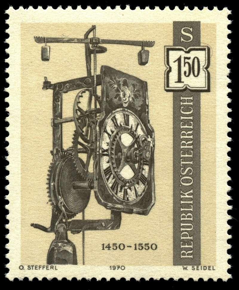 Briefmarken - Österreich, Briefmarken der Jahre 1970 - 1974 Ank_1317