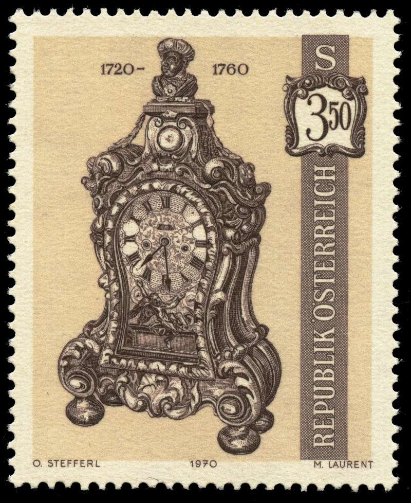 Österreich, Briefmarken der Jahre 1970 - 1974 Ank_1319