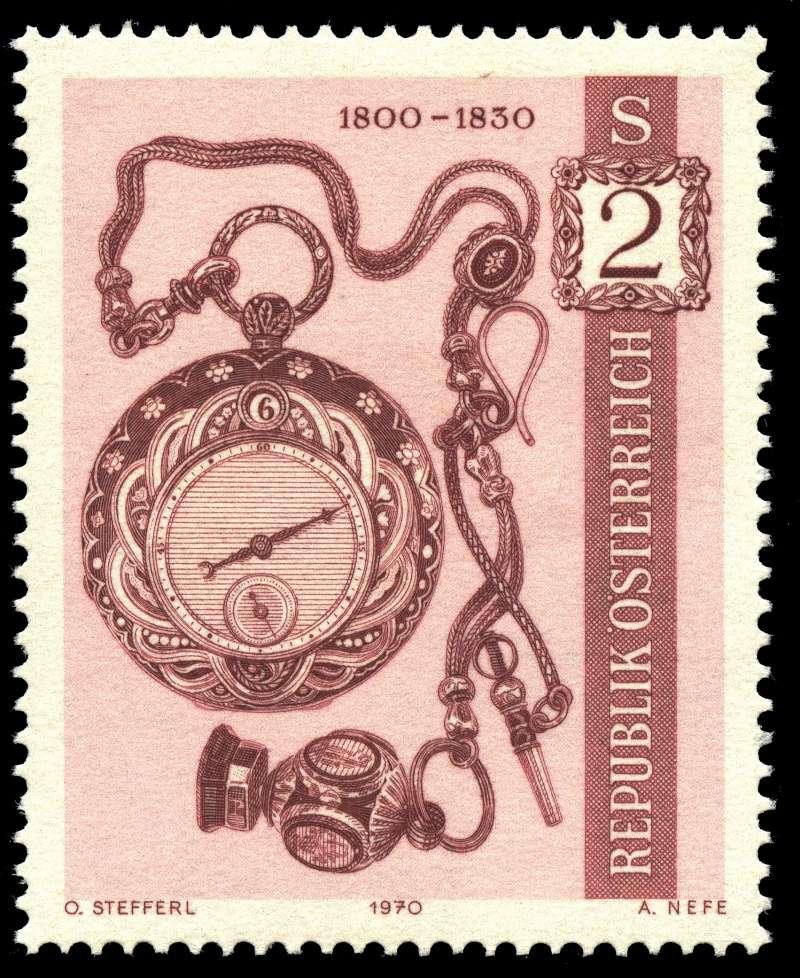 Österreich, Briefmarken der Jahre 1970 - 1974 Ank_1321