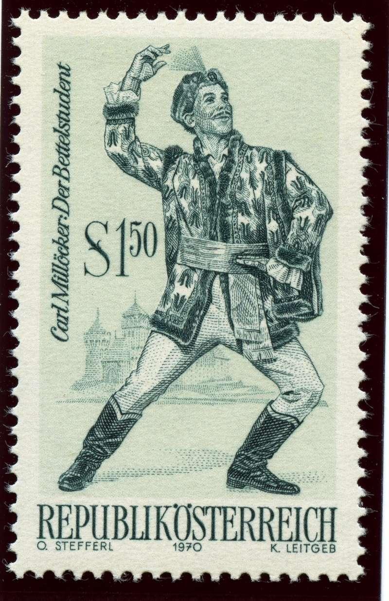 Briefmarken - Österreich, Briefmarken der Jahre 1970 - 1974 Ank_1323