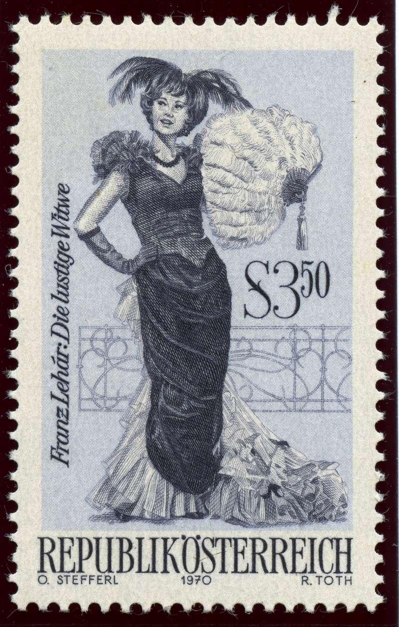 Österreich, Briefmarken der Jahre 1970 - 1974 Ank_1324