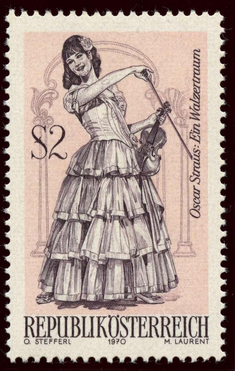Österreich, Briefmarken der Jahre 1970 - 1974 Ank_1325