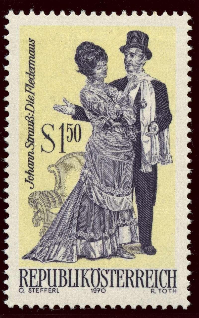 Österreich, Briefmarken der Jahre 1970 - 1974 Ank_1326