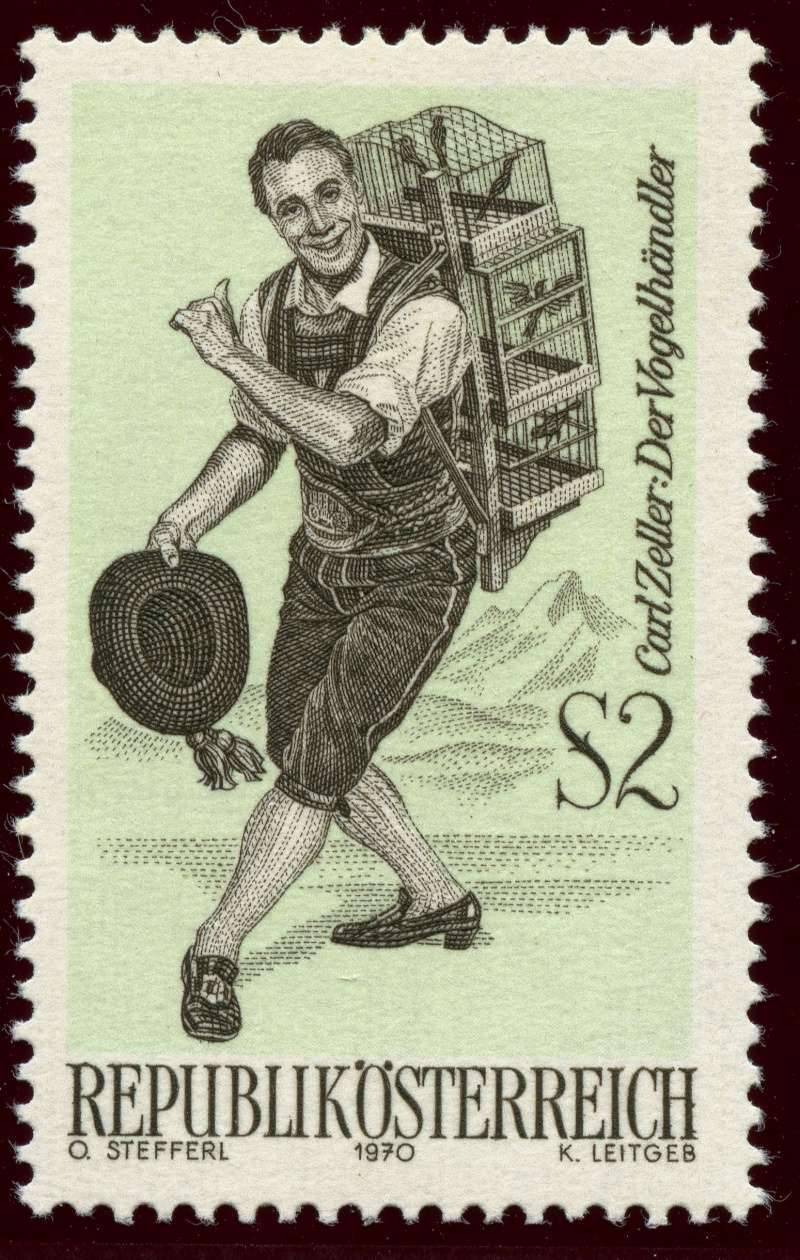Österreich, Briefmarken der Jahre 1970 - 1974 Ank_1327