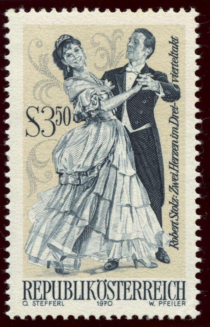 Briefmarken - Österreich, Briefmarken der Jahre 1970 - 1974 Ank_1328
