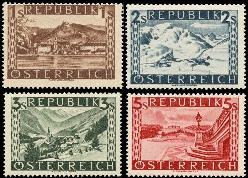 Briefmarken - Österreich, Briefmarken der Jahre 1945-1949 Ank_7711