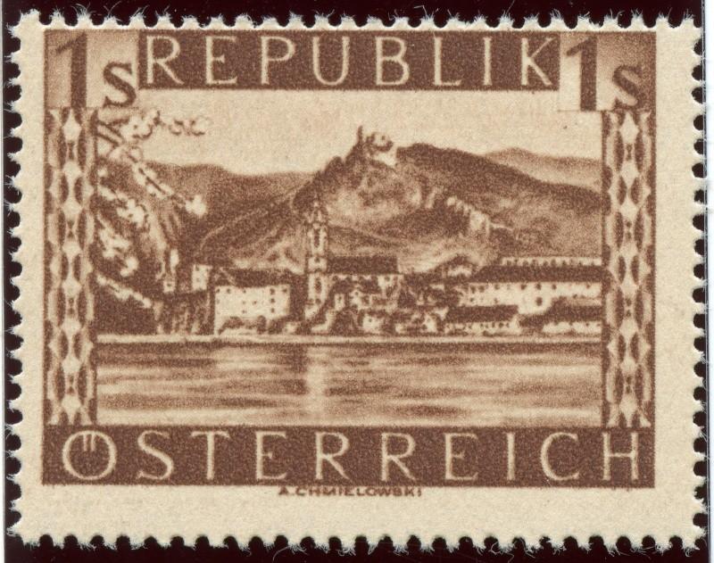Briefmarken - Österreich, Briefmarken der Jahre 1945-1949 Ank_7712