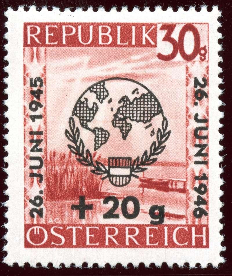 Briefmarken - Österreich, Briefmarken der Jahre 1945-1949 Ank_7713