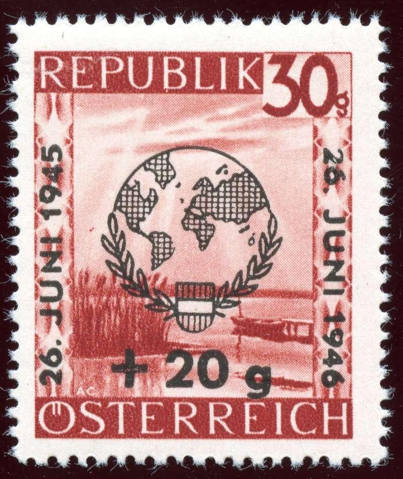 Briefmarken - Österreich, Briefmarken der Jahre 1945-1949 Ank_7714