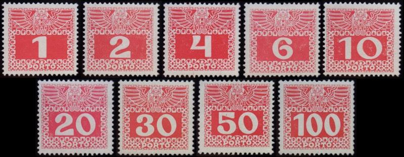 Die Portomarken des Kaiserreiches Gesamt12