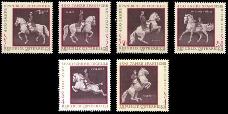 Briefmarken - Österreich, Briefmarken der Jahre 1970 - 1974 Gesamt17