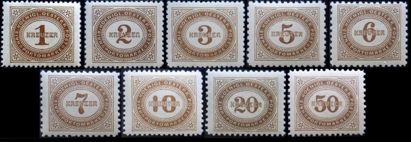 Die Portomarken des Kaiserreiches Porto_10