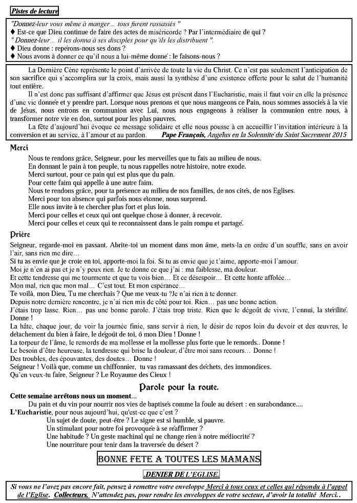 Trait d'union du 29 mai 2015 Tu160517