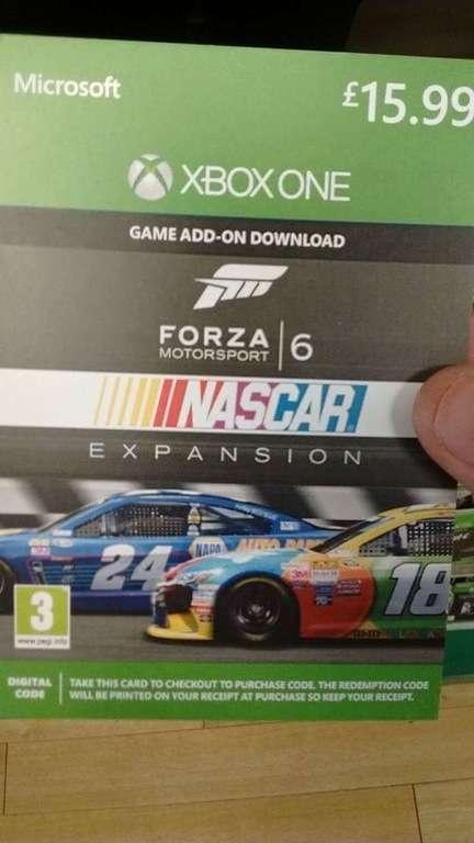 Forza Motorsport 6 : Une extension NASCAR a fuité 14628210