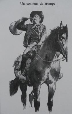 [reproduction] Corne d'appel (de chasse) Chouanne / Vendéenne Dsc06816