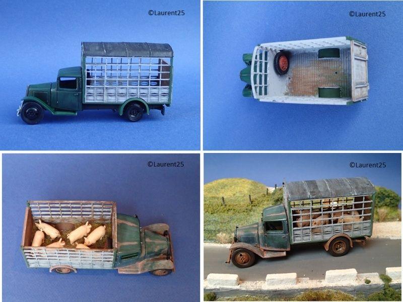 CITROEN  Type 23 transport de Cochons  – 1940 Image_11