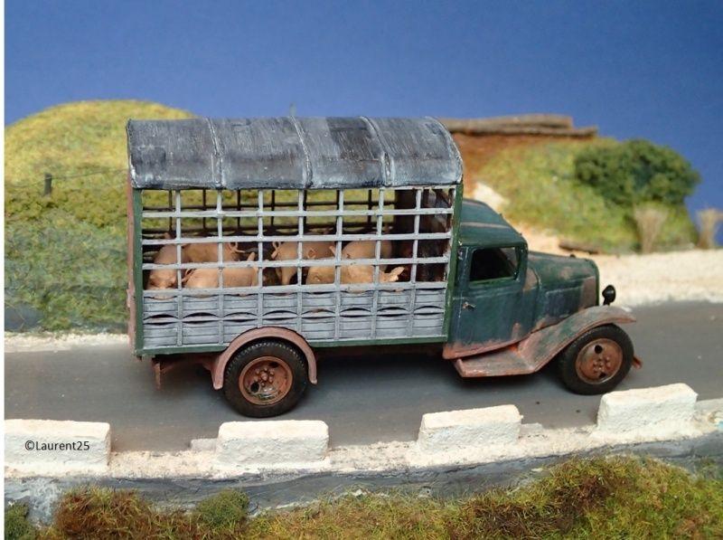 CITROEN  Type 23 transport de Cochons  – 1940 Image_12