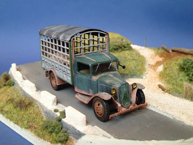 CITROEN  Type 23 transport de Cochons  – 1940 Pb290110