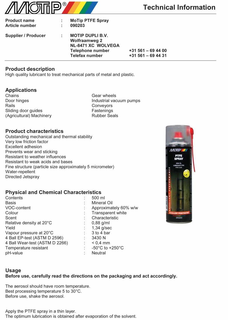 [Avis] Graisse en spray pour butée embrayage - Page 2 Ptfe_s10