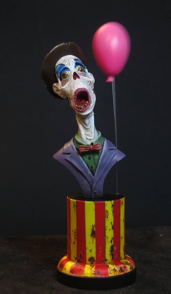 Clown Zombie 12936610