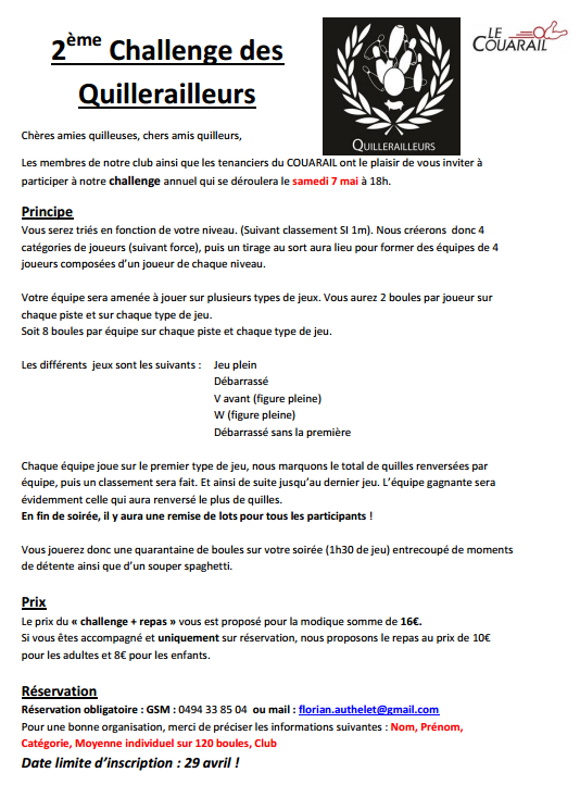 2e Challenge des Quillerailleurs Challe10