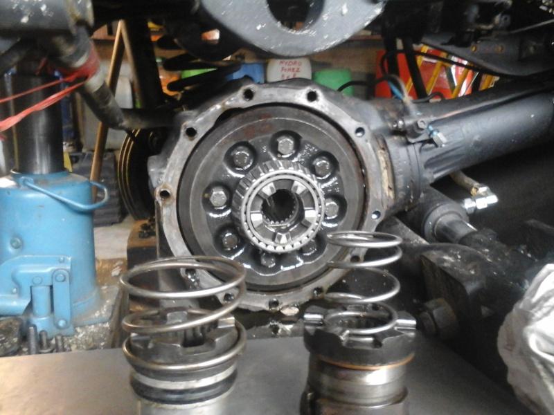 Étanchéité du piston de blocage différentiel pont avant 406 20160415