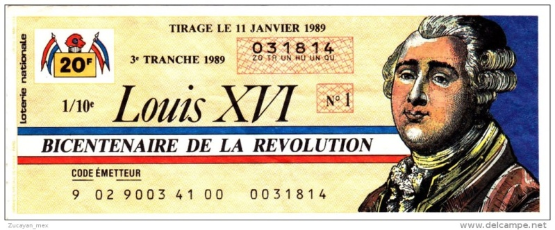 Billets de Loterie de Collection 699_0010