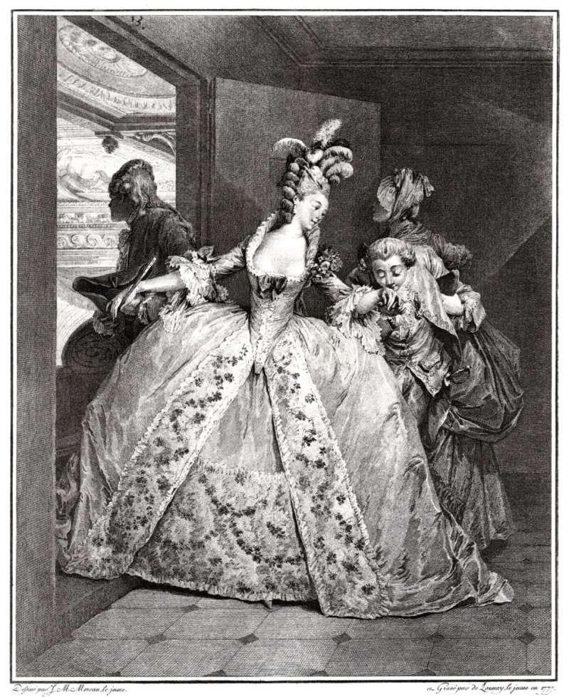 Pour les fans de costumes XVIIIe Panier10