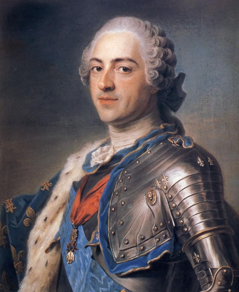 Louis XV, le Bien-Aimé Portra10