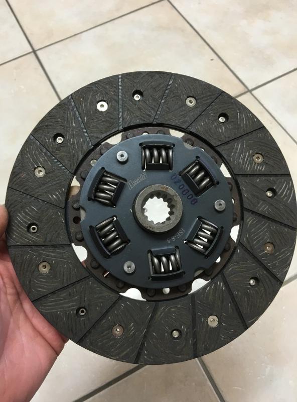 disque d'embrayage jeep 4X4 ou 6X6 Poncin Disque10