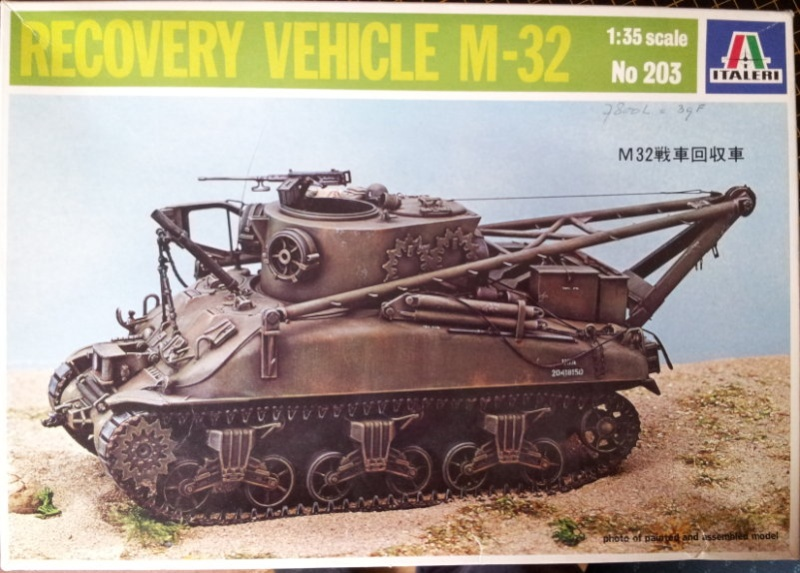 Recovery vehicle M32   0001010