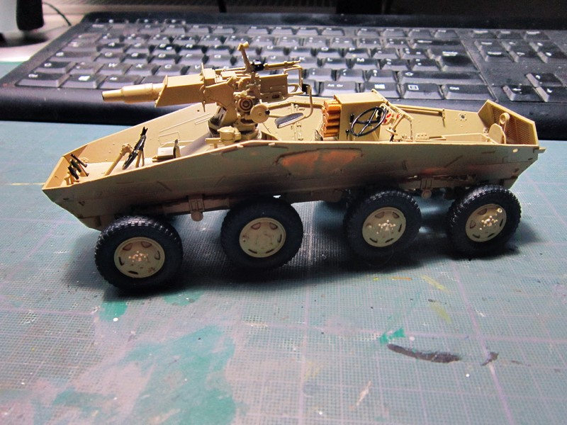sd.Kfz.233 8-Rad with 7,5cm Gun (dio fini ) - Page 2 Img_4358