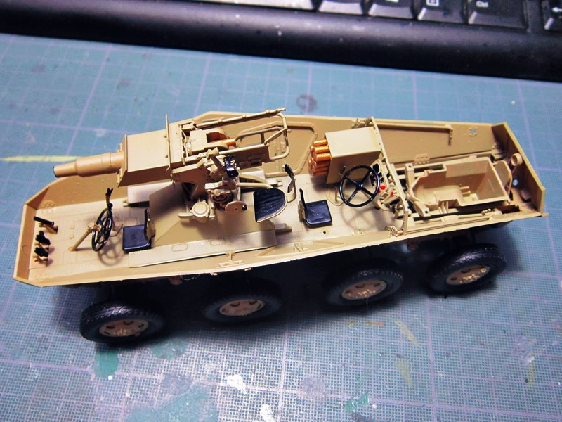 sd.Kfz.233 8-Rad with 7,5cm Gun (dio fini ) - Page 2 Img_4360