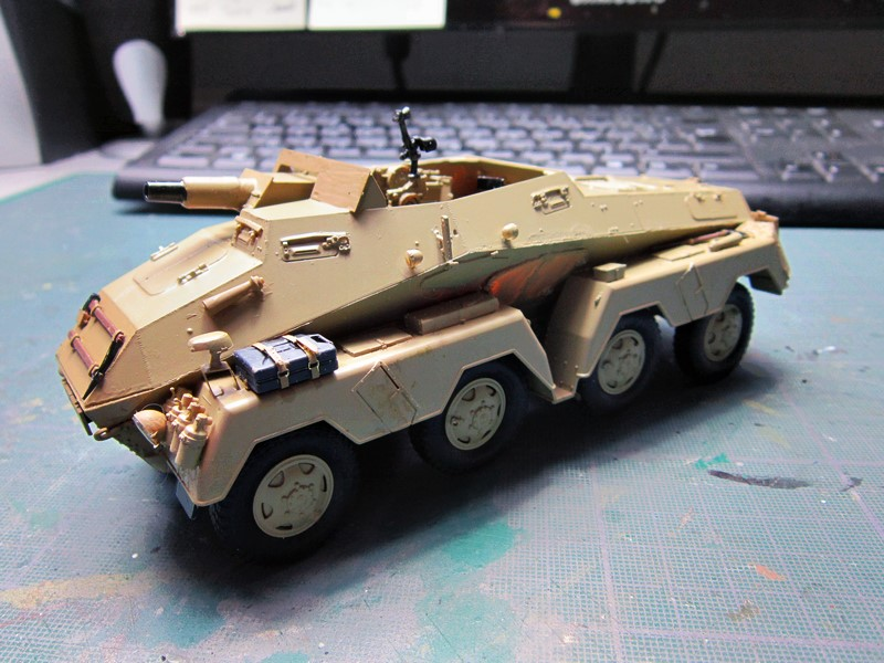 sd.Kfz.233 8-Rad with 7,5cm Gun (dio fini ) - Page 2 Img_4372