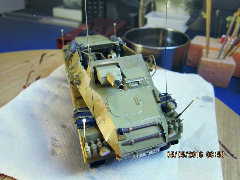 sd.Kfz.233 8-Rad with 7,5cm Gun (dio fini ) - Page 2 Img_4377