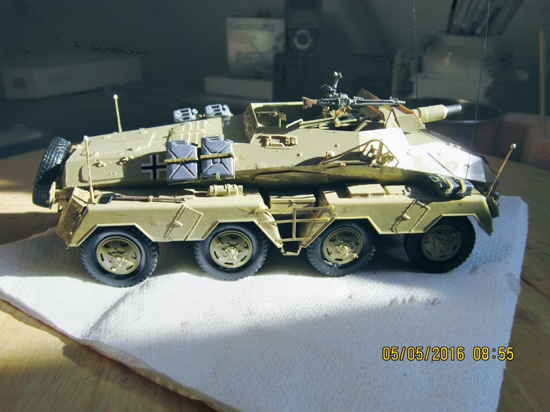 sd.Kfz.233 8-Rad with 7,5cm Gun (dio fini ) - Page 2 Img_4378