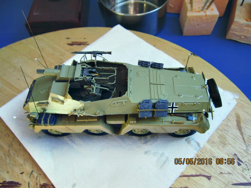 sd.Kfz.233 8-Rad with 7,5cm Gun (dio fini ) - Page 2 Img_4381