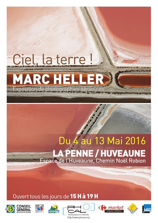 Exposition Phocal : CIEL, LA TERRE !  Balade aérienne en Provence avec Marc Heller 69705a11