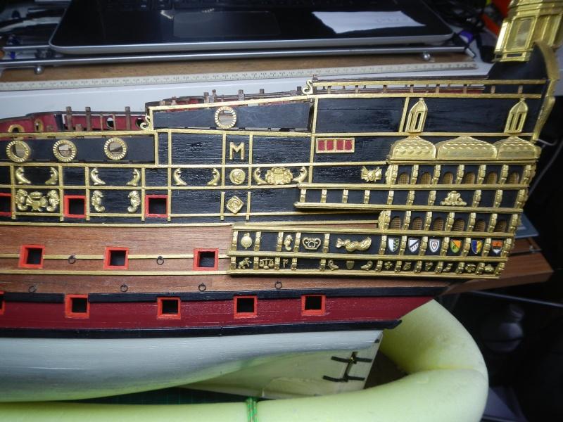 """Construction du """"Sovereign of the Seas"""" au 1/84 par Glénans - Partie I - Page 38 Dscn3710"""