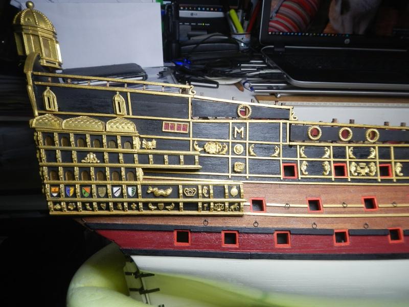 """Construction du """"Sovereign of the Seas"""" au 1/84 par Glénans - Partie I - Page 38 Dscn3714"""