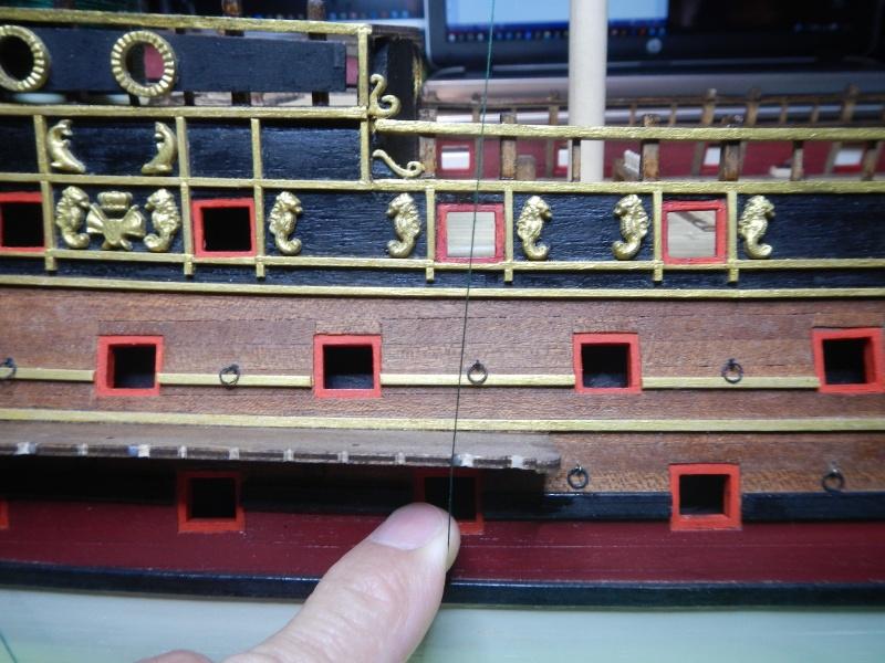 """Construction du """"Sovereign of the Seas"""" au 1/84 par Glénans - Partie II - Page 2 Dscn3945"""