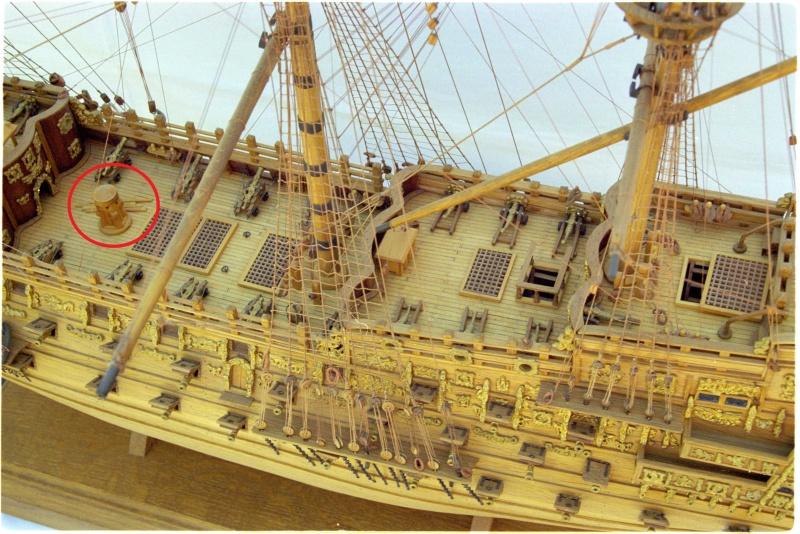 """Construction du """"Sovereign of the Seas"""" au 1/84 par Glénans - Partie I - Page 40 Souver11"""