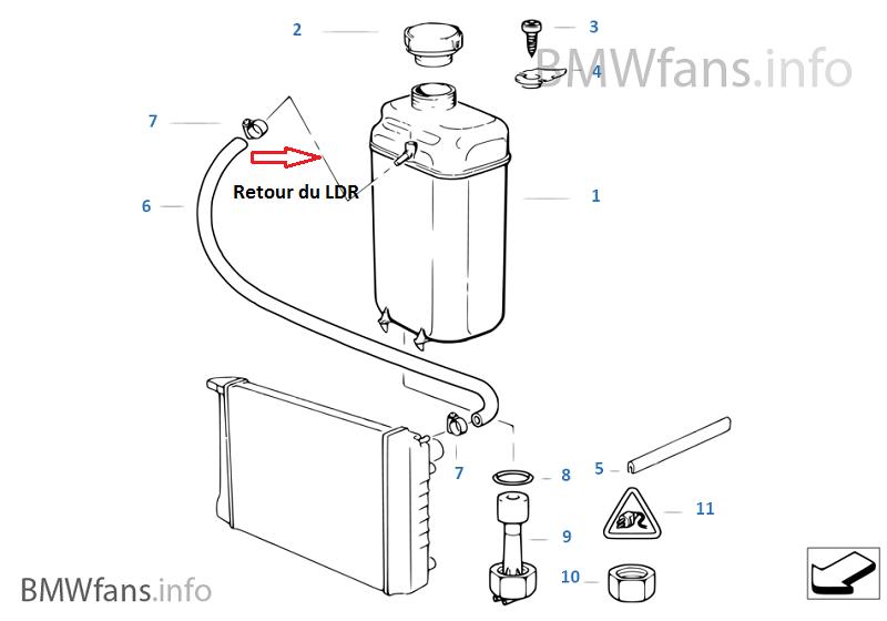 [ BMW E39 535i V8 M62 an 1997 ] Problème sur le circuit de refroidissement (résolu ) 17_e3910