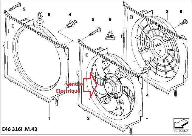 [ BMW e46 316i an 2000 ] Chauffe moteur et arrêt du ventilateur radiateur( Abandonné ) 17_e4611