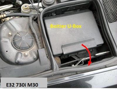 [ BMW e32 730i M30 an 1994 ] Problème ordinateur de bord - défaut ampoule (résolu) 61_e3210