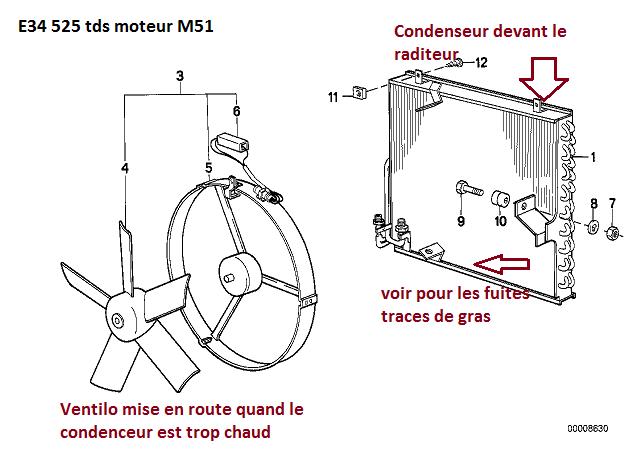 [ BMW E34 525 tds M51 an 1995 ] Problème climatisation (résolu) 64_con10