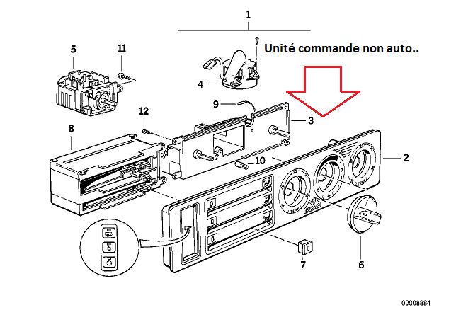 [ BMW E34 525 tds M51 an 1995 ] Problème climatisation (résolu) 64_uni10