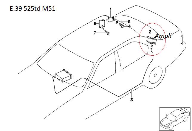 [ BMW e39 525 td M51 an 1997 ]  Probleme fermeture centralisé 65_e3910