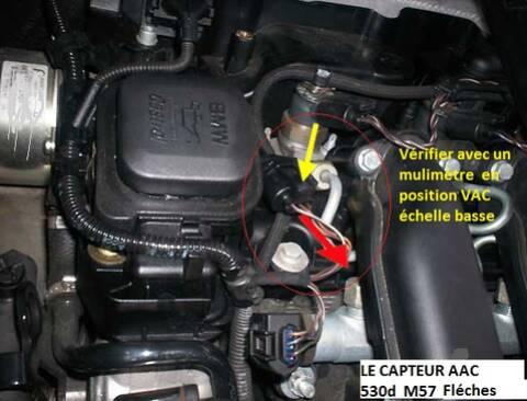 BMW e39 525d 530d m57 Ölwanne Pression D/'Huile Capteur