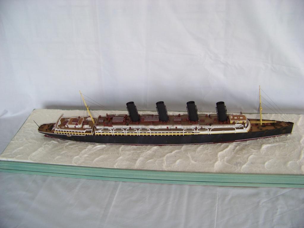 Diorama du torpillage du RMS Lusitania 1/350 Gunze Sangyo - Page 2 100_9310